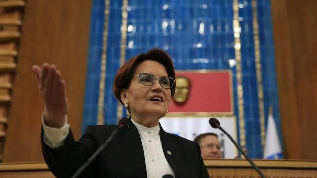 Meral Akşener, İYİ Parti yerine AK Parti dedi
