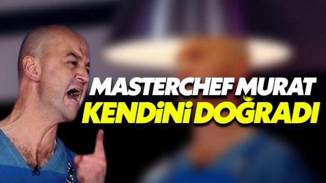MasterChef'ten kovulan Murat, canlı yayında kendini doğradı