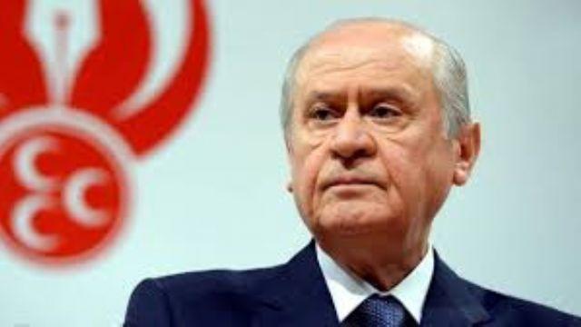 MHP Lideri Bahçeli: ''Binali Bey aday olursa başımızın üstünde yeri var.''