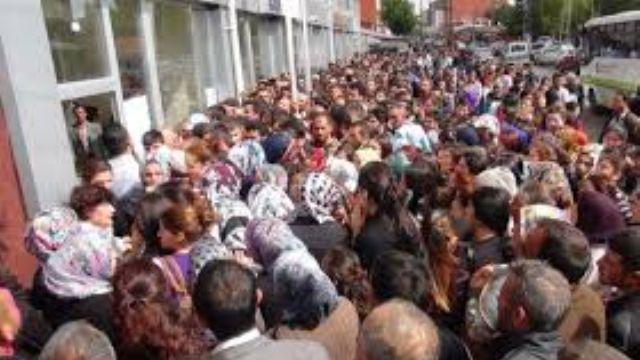 İşsiz sayısı 3 milyon 749 bin kişiye ulaştı