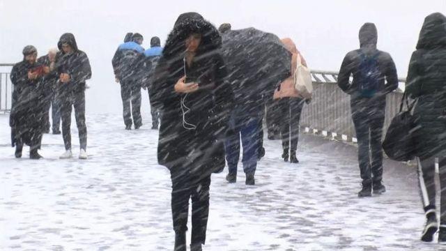 İstanbul için şiddetli yağış, fırtına ve kar uyarısı