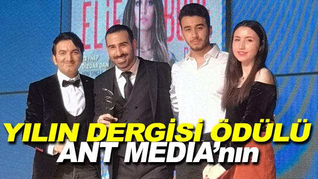 Arif Antlı'nın Dergisi Ant Media'ya ALTIN 61 ödülü