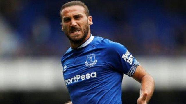 Everton taraftarlarından Cenk Tosun'a tepki