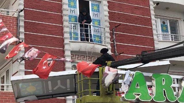 İstifa eden İYİ Partili belediye başkanından görülmemiş hareket