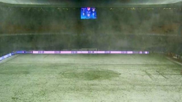 Başakşehir Bursaspor maçına kar engeli