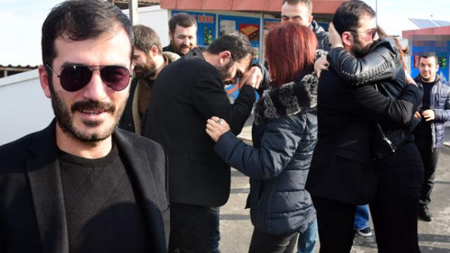 Oyuncu Ufuk Bayraktar cezaevinden çıktı