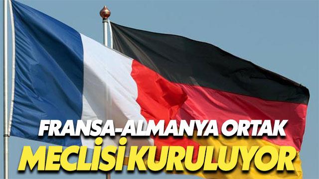 Almanya-Fransa ortak meclisine Paris'ten onay geldi