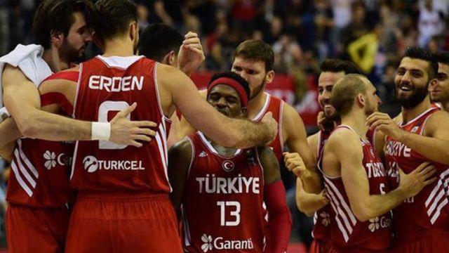 A Milli Erkek Basketbol Takımı'nın rakipleri belli oldu
