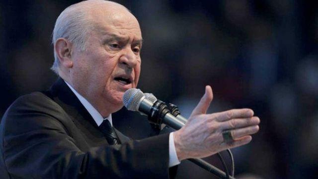 Devlet Bahçeli: İzmir çantada keklik değil