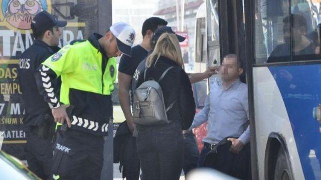 Taciz iddiasıyla gözaltına alınan şüpheli serbest