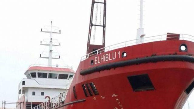 Göçmenler kendilerini kurtaran gemiyi kaçırdı