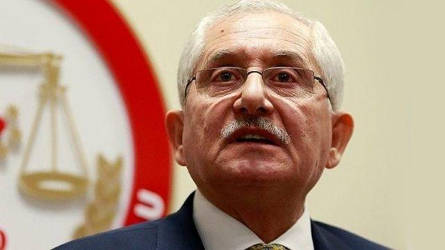 YSK Başkanı Güven'den son dakika açıklaması; Ekrem İmamoğlu önde