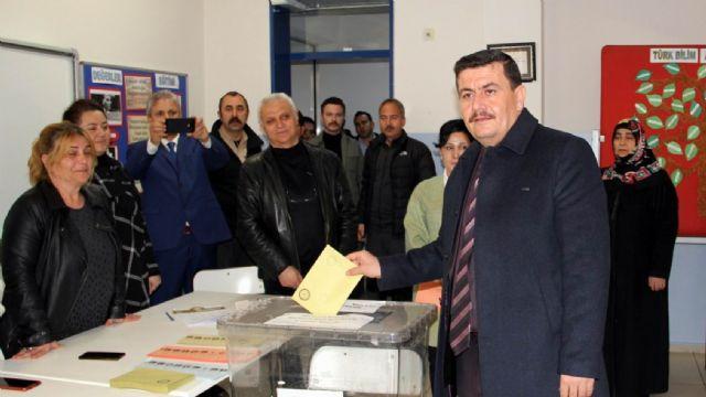 Erzincan'da 19 muhtar kura ile belirlendi