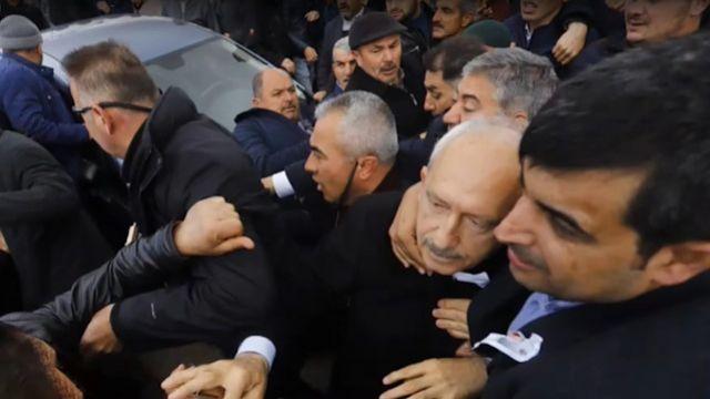 Kılıçdaroğlu'na saldıran AKP'li çıktı