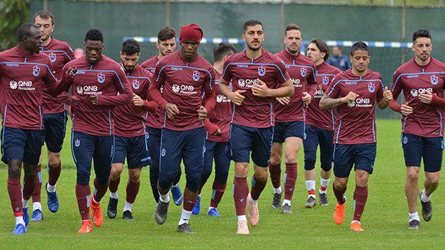 Trabzonspor, Konyaspor maçı için hazırlıklarını sürdürüyor