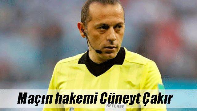 Cüneyt Çakır, Galatasaray-Medipol Başakşehir maçının hakemi seçildi