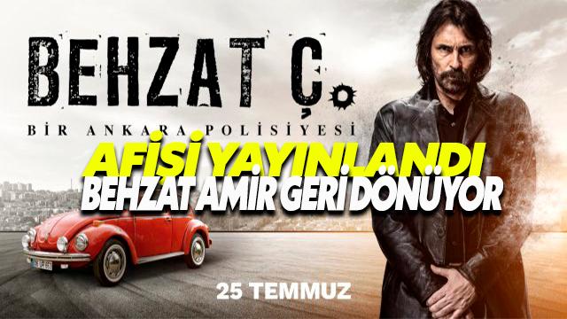 Behzat Ç.'nin beklenen Afişi yayınlandı.