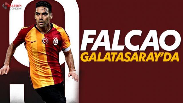Falcao Galatasaray'da!