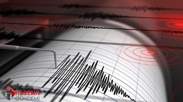 Ege Denizi'nde 4,6 şiddetinde deprem!