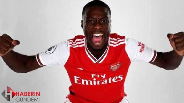 Nicolas Pepe 80 milyon Euro bedelle Arsenal'de