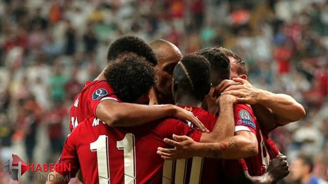 2019 Süper Kupa Liverpool'un