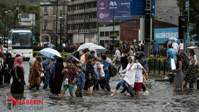 İBB'den sağanak yağış önlemi