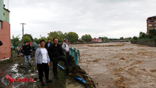 Samsun'da sel felaketi: 2 ölü