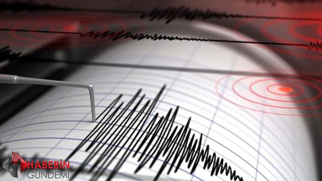 İstanbul'da 3 büyüklüğünde deprem!