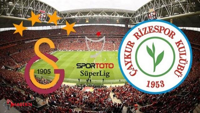 Galatasaray Rizespor Şifresiz Canlı izle Netspor Taraftarium Jestyayın Justin TV