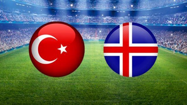 Türkiye İzlanda ilk 11'ler