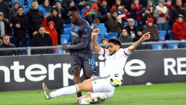 Trabzonspor'dan 1 puanla veda