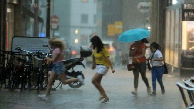 Meteoroloji'den şiddetli yağmur uyarısı