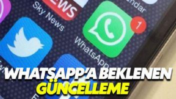 Whatsapp'a Yeni Güncelleme Geliyor