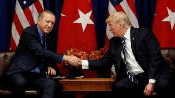 Cumhurbaşkanı Erdoğan ve ABD Başkanı Trump'ın görüşmesi sona erdi