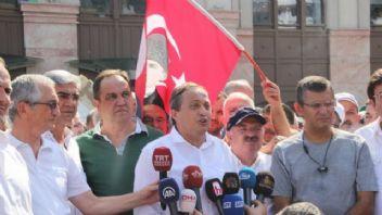 CHP'nin fındık yürüyüşü başladı
