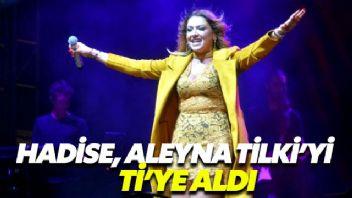 Hadise, Aleyna Tilki'ye gönderme yaptı