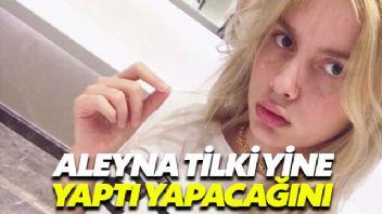 Aleyna Tilki uçakta ikinci pilot tarafından uyarıldı