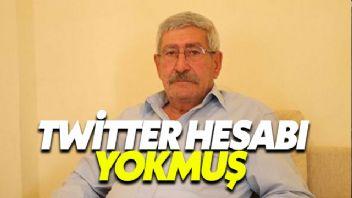 Kılıçdaroğlu'nun kardeşi'nin Twitter hesabı yokmuş