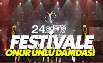 Adana film festivaline Onur Ünlü damgası