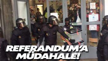 Katalonya'da sokaklar karıştı:337 yaralı!