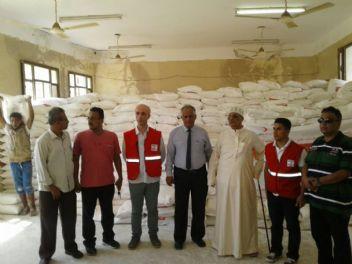 Yemen'deki Türk köyüne Kızılay yardım elini uzattı