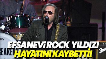 Efsane Rock yıldızı Tom Petty hayatını kaybetti
