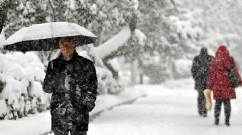 Meteoroloji'den yılın ilk kar uyarısı geldi