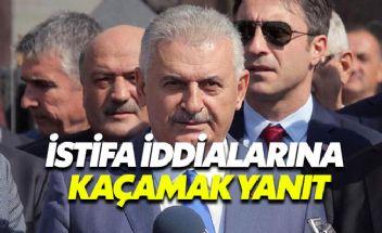 Başbakan Yıldırım'dan Gökçek istifa edecek iddialarına kaçamak yanıt