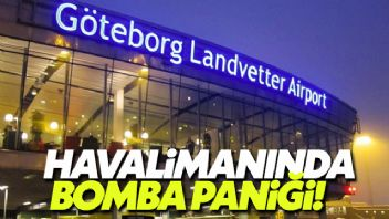 İsveç havalimanında bir adamın çantasında patlayıcı bulundu