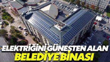 Bu belediye elektriğini güneşten alıyor