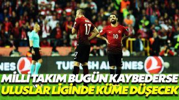 Türkiye Milli Takımı küme düşebilir