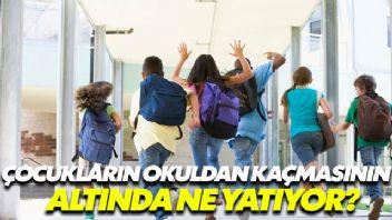 Okuldan kaçan çocuklarda aile sevgisi eksiliği var!