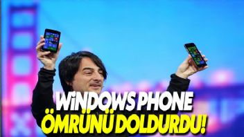 Windows Phone ömrünü doldurdu