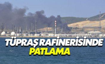 TÜPRAŞ'ın İzmir Rafinerisinde Patlama